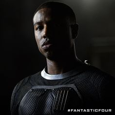 See Michael B Jordan as Johnny Storm in Fantastic Four in theaters this summer.