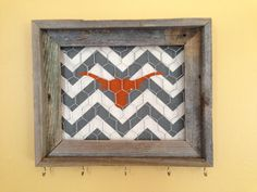 Texas Longhorn jewelry frame  by stefanyusa on Etsy, $27.50