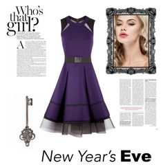 """Party on New Years Eve 2016"" by kaylaharmony on Polyvore featuring Donna Karan"