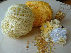 Angela Patella Handmade: Elastico con i fiorellini gialli