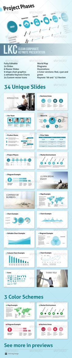 LKC - Clean Corporate Keynote Presentation  #GraphicRiver         This is…