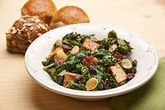 Roasted Kale Salad - another great find! (thanks Jennifer!)