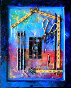 art Find Objects, Steampunk, Collage, Wall Art, Cameras, Resin, Mixed Media, Photography, Painting
