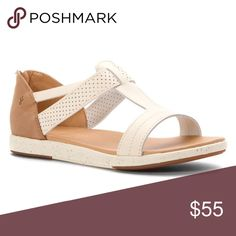 Emu Australia - Cassia Flat Sandal A lightweight athletic style with the look and feel of a sophisticated sandal. Inspired by wellness, the Cassia is the perfect choice for pre and post sport, to pair with your luxury casual wear or as a comfortable and stylish option with your favorite spring outfit. Full-grain leather upper EVA midsole EVA cushioned footbed Gum rubber outsole Back zipper entry Emu Shoes Sandals