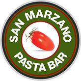 San Marzano Pasta Bar. Great little neighborhood eatery (really tasty and fresh) and could use more visitors (we hope it sticks around)!