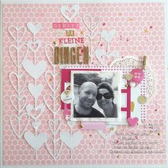 Scrapping with Thamar Scrapbooking Layouts, Scrapbook Cards, Envelopes, Photo Sketch, Wedding Scrapbook, Silhouette Files, Page Layout, Scrapbooks, Paper Crafts