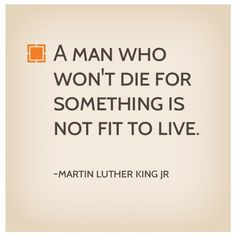 A fitting #MLK quote