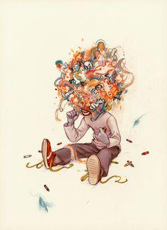James Jean: Crayoneater