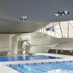 London Aquatics Centre 2012 by Zaha Hadid   - photographed by Hufton + Crow