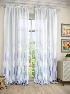 """Комплект штор """"Контик"""": купить комплект штор в интернет-магазине ТОМДОМ #томдом #curtains #шторы #interior #дизайнинтерьера"""