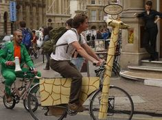 Perhaps it's not you who wears a costume this #Halloween  #BikeCostumes