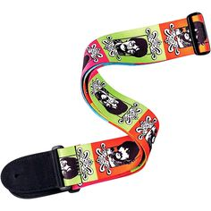 D'Addario Planet Waves Beatles Sgt. Pepper's Lonely Heart's Club Band 50th Anniversary Guitar Strap Sergeant Pepper's 2 in.