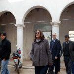 Lucía visitó la casa de Octaviano Navarro