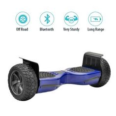 NHT Hoverboard - All Terrain Rugged Inch Wheels Off-Road Electric Smart Self Balancing Scooter Buyers Guide, Offroad, More Fun, Skateboard, Wheels, Electric, Top, Skateboarding, Off Road