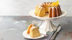 Lemon Bundt Cake, Bundt Cake Pan, Vanilla Cake, Soda Pop Cake, Light Cakes, Cake Shapes, Walnut Cake, Traditional Cakes, Cake Icing