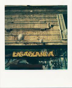 """CASABLANCA"" - Rue Pastoret #Marseille #Maroc #Maghreb #streetart #Casablanca #ruePastoret #CoursJu #polaroid / www.marseillepolaroid2013.com"
