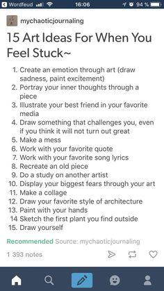 15 art ideas for when you feel stuck~, . 15 art ideas for when you feel stuck~, Drawing Prompt, Drawing Tips, Drawing Stuff, Art Sketches, Art Drawings, Drawing Art, Dragon Drawings, Drawing Quotes, Pencil Drawings