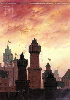 The Towers of the Red Keep by Ted Nasmith