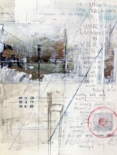 Brandi Downham | works on paper mixed media