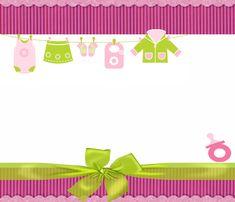 Marcos para baby shower gratis - Imagui
