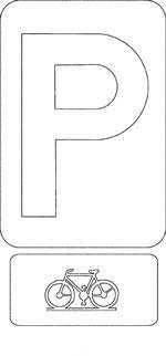 Een mooie kleurplaat van Verkeer en Borden Transportation, Alphabet, School, Letters, Under Construction, Symbols, Note Cards, Alpha Bet, Icons