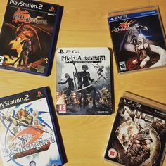 One year since the release of Nier: Automata and almost 15 years of the Drakengard series! What do you think of this game and the entire series? For me Automata is a masterpiece!  #nier #nierautomata #2b #drakengard #playstation #playstation2 #playstation3 #playstation4 #ps1 #psx #ps2 #ps3 #ps4 #ps4pro #playstationpt #playstationportugal #sony #sonyplaystation #gaming #instagamer #instagaming #games #videogames #gamecollection #gamesroom #retrogames