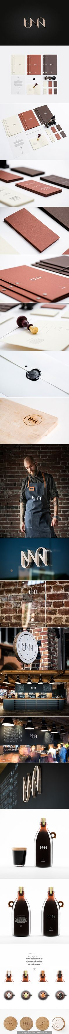 Una Kitchen & Microbrewery, CI/Branding  – farmhouse meets industrial, what not to like?/Nilla