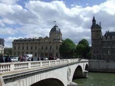Bridge Across the Seine River in Paris