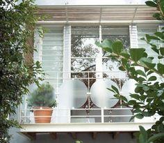 Like The Discreet Inner Metall-geländer | Balkon | Balcony ... Balkongelander Ideen Material Design