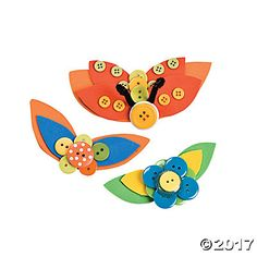 Button Butterflies Idea