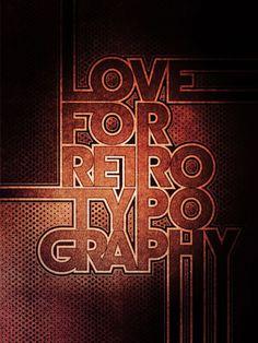 Énorme ! 80 magnifiques créations typographiques   http://blog.shanegraphique.com/norme-80-magnifiques-crations-typographiques/