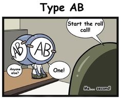 Blood type army