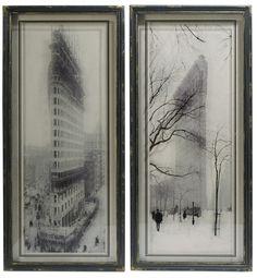 Flatiron Building Framed Prints
