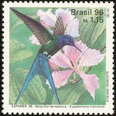 Birds on stamps: Brazil Brazilie Brésil Brasil