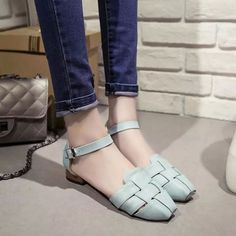 Summer women flats casual outdoor beach comfortable lace up square toe sandals shoes sandals discounts #sandals #4 #inch #heels #sandals #destinations #sandals #k #jacques #sandals #you #can #hike #in