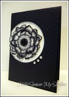 Nikki Spencer-My Sandbox: Blended Bloom with Linework!