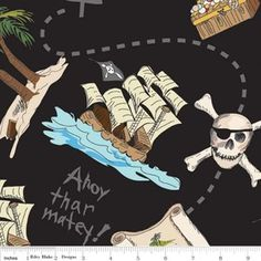 Pirates by Emily Taylor Designs for Riley Blake Designs