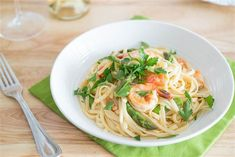 Shrimp Linguine with