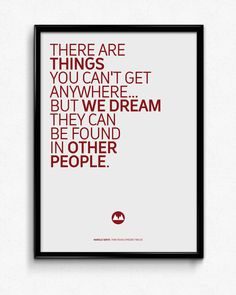 {$5} Twin Peaks  Quote Poster #3/3 Living Room