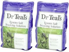 Dr. Teal's Epsom Salt Soaking Solution with Eucalyptus Spearmint, 48 Ounce (2 Bags) * LEARN MORE DETAILS @: http://www.passion-4fashion.com/beauty/dr-teals-epsom-salt-soaking-solution-with-eucalyptus-spearmint-48-ounce-(2-bags)/