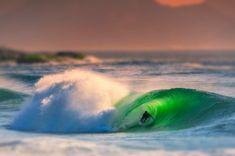 Tilt-Shift: Surfer just after Sunrise, Rio de Janeiro Water Me, Salt And Water, Fine Art Photo, Photo Art, Surfer Kids, Tilt Shift Photography, Blue And Green, Good Morning World, Learn To Surf