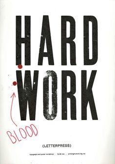Hard Work  by Scott Andre