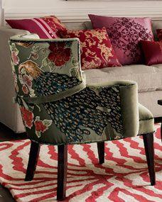 Peacock Chair via Nieman Marcus (Haute House design)