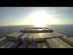 Elly Maersk - Around the world in 4 minutes - YouTube