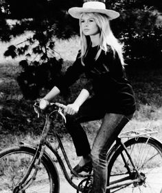 "Our favorite denim moments throughout the years, including Brigitte Bardot in ""A Very Private Affair"""