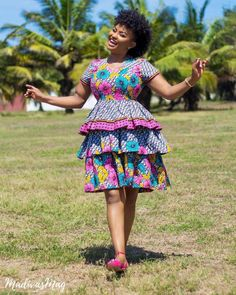 55 most Beautiful Ankara Pattern Styles for Ladies, Ankara gown styles, Ankara Styles Best Ank Short African Dresses, Ankara Short Gown Styles, Ankara Gowns, Latest African Fashion Dresses, African Print Dresses, African Print Fashion, Ankara Fashion, African Prints, Ankara Blouse