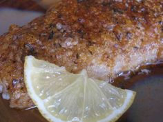 Almond-Crusted Baked Mahi Mahi - made this last night - substituted 1/2 olive oil for butter and made my own almond flour.