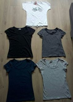 Kup mój przedmiot na #vintedpl http://www.vinted.pl/damska-odziez/t-shirty/20389309-t-shirt-t-shirty-koszulki-basic-cubus-hm-36-s