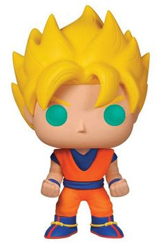 Dragon Ball - Figure Bobble Head Super Saiyan Goku (Funko POP!), 10cm, Vinyl, AnimeHouse