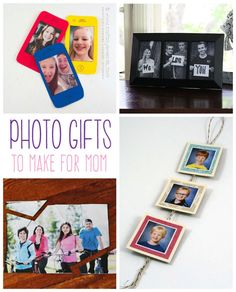 When asked what they want for Mother's Day, women will say a gift from the heart. What could be more heartfelt than a photo project? From preschool through their early twenties - here are several ideas that will make mom smile!